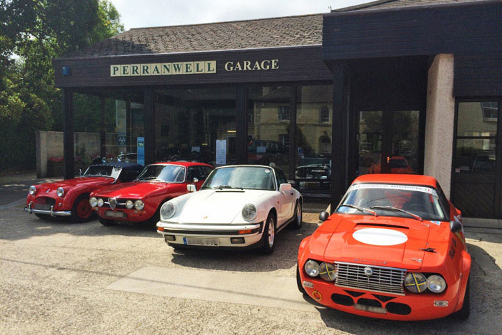 Classic 720frontage perranwell garage cornwall for Garage auto ajaccio