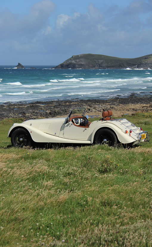 Morgan at Constantine Bay Cornwall